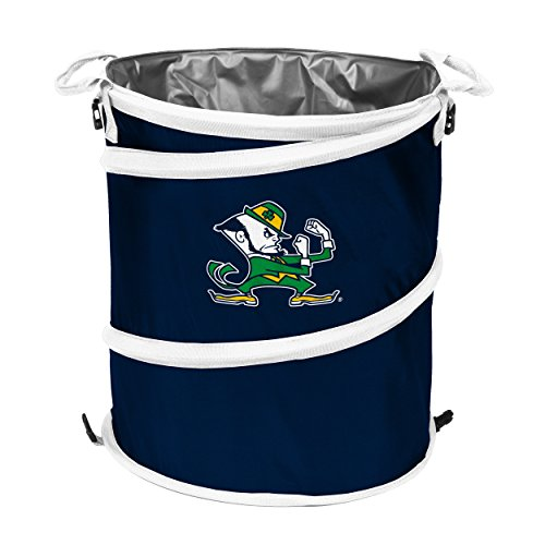Logo Brands NCAA Notre Dame Fighting Irish Collapsible 3-in-1, Navy/White ()