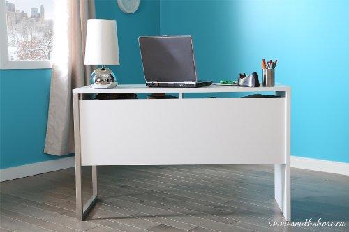 South Shore Interface Desk, Pure White
