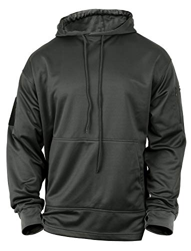 Rothco Concealed Carry Hoodie, Gun Metal Grey, L