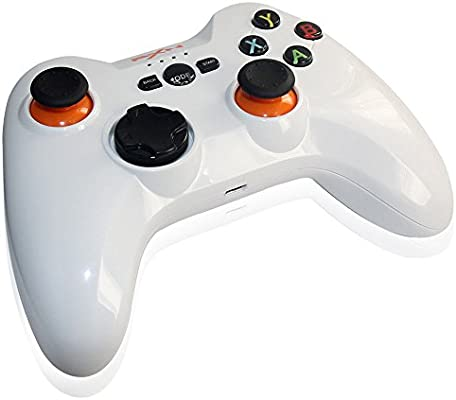 PXN-9613 2.4G Inalámbrico Gamepad Universal Controlador Mando Juego para Samsung Android TV Box Tablet PC 360(Blanco): Amazon.es: Electrónica