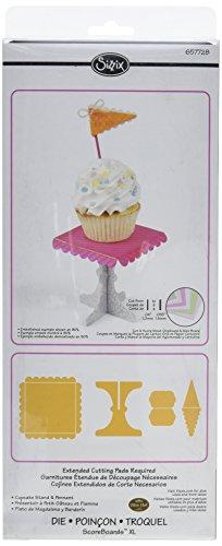Sizzix ScoreBoards XL Die - Cupcake Stand & Pennant by Eileen (Scoreboards Xl Die)