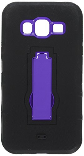 Eagle - Carcasa para Samsung Galaxy J3 J320/J310, Color Morado y Negro