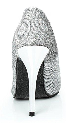 Talon Chaussures L Pointue Shoes Ageemi Haut Femmes wTOEOYX