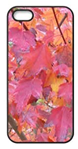iPhone 5,5s Hard Cover Leaves - Phone Back Case