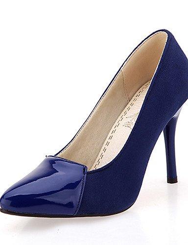 Femme us3 habillé Aiguille Evénement Ggx Pointu Soirée Chaussures talon talons 5 similicuir Eu33 Bleu Cn32 Uk1 Blue bout Rouge noir 5 amp; avEEq5w