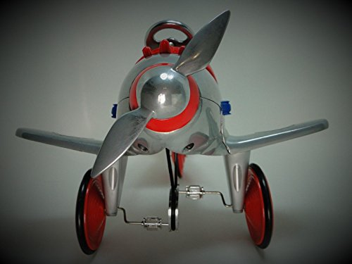 High End Collector Pedal Car 1 Vintage Airplane Plane Airplane 48 Antique Ww2 P51 Mustang Race Sport Investment Grade Model Classic Museum Quality Metal Body Collectible Not A Toy For Child To Ride On