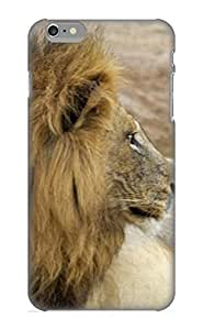 Case Cover For Apple Iphone 6 4.7 Inch Hard Phone Case Cover(Animal Lion) For Thanksgiving Day's Gift