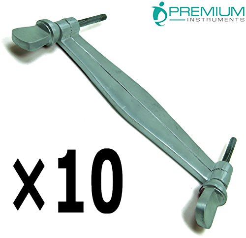 10× PREMIUM INSTRUMENTS Veterinary Ear Clamps 5.5