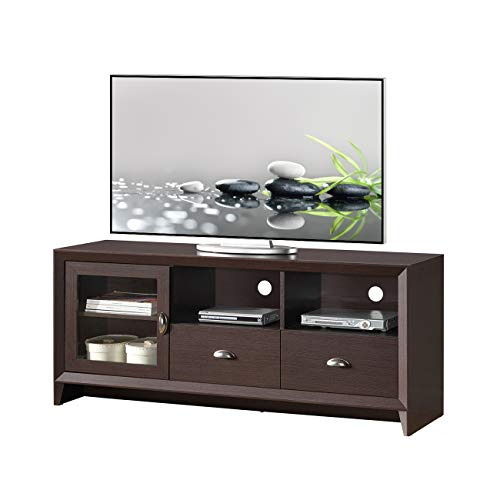 Techni Mobili RTA-8807-WN Modern Stand with Storage for TVs Up to 60
