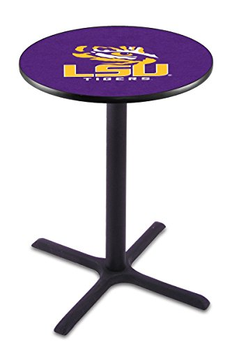 Holland Bar Stool L211B Louisiana State University Officially Licensed Pub Table, 28