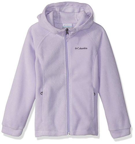 Columbia Girls' Big Benton II Hoodie, Soft Violet, Medium