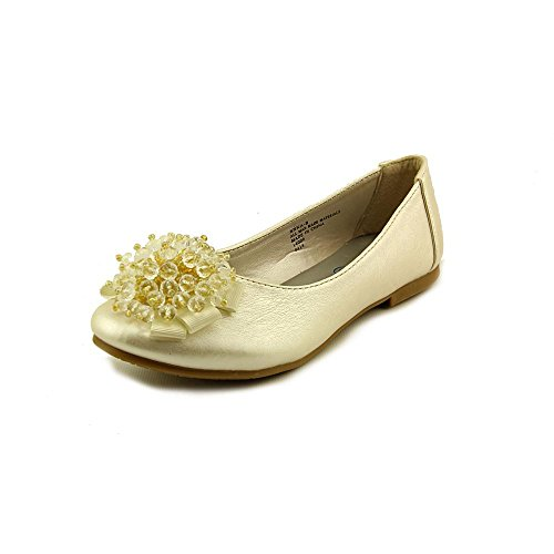 Girls Flats with Crystal Bead Bow (2, Ivory) from Swea Pea & Lilli