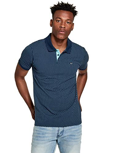 GUESS Factory Men's Walters Geo-Print Polo