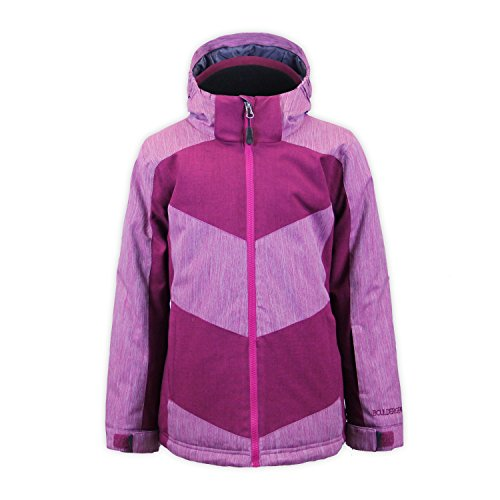 Boulder Gear 9302R Youth Girls Jenny Jacket, Maroon - M by Boulder Gear
