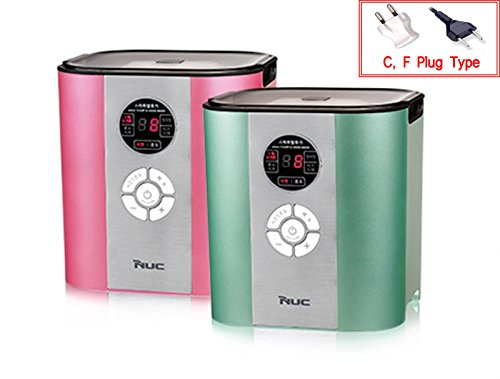 NUC NYM-721KC Premium Smart Fermenter Greek Yogurt Cheese Maker 220V (Cherry Pink)