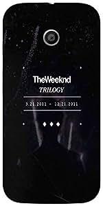 Snoogg Weekend Trilogy Designer Protective Back Case Cover For Moto-E 2Nd Gen...