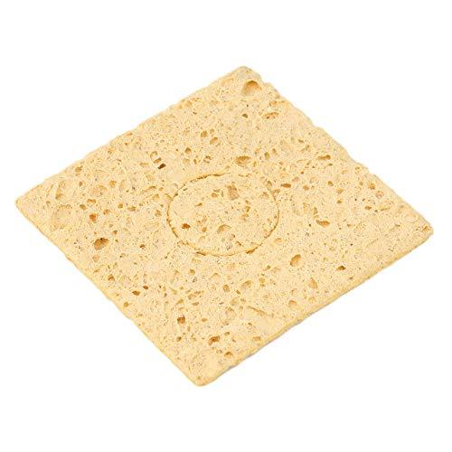 Mirabelley Yellow 1pc Soldering Iron Tip Welding Cleaning Sponge for 936