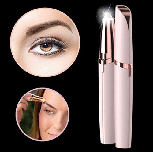 Flawlessly Brow Hair Remover - Brows Best Eyebrow Trimmer Women Painless Hair Remover, Flawlessly Eyebrow Remover As Seen On TV by Life In Color