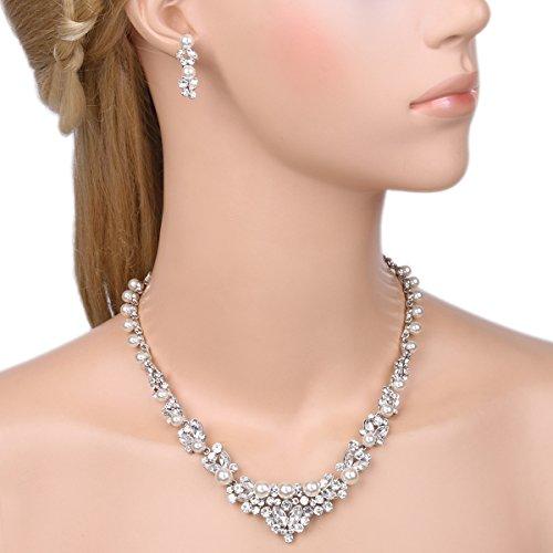 Buy pearl bridal jewellery