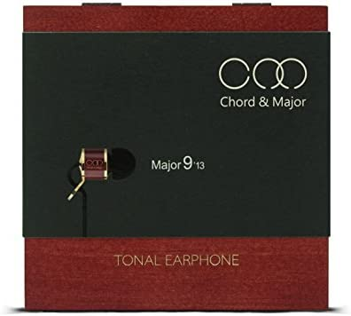 Chord Major 9 13 Classical Tonal Earphone – Award Winning IEM Specially Tuned for Classical Music with Rosewood Body and Pinewood Presentation Box