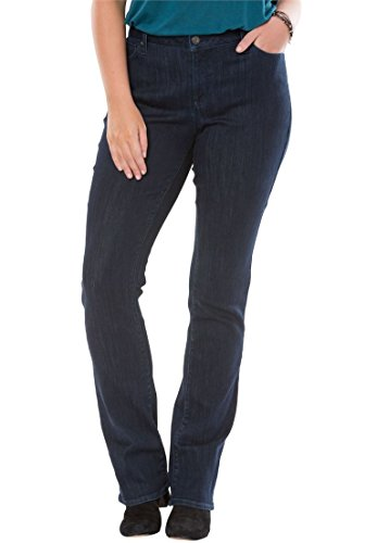 Boot Cut Rinse Wash (Women's Plus Size Chelsea Studio Boot Cut Jean Rinse Wash,20 W)