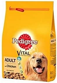 Pedigree Adult Dog Food Dry Complete with Chicken (3kg) (Pack of 6) – Dogs Corner
