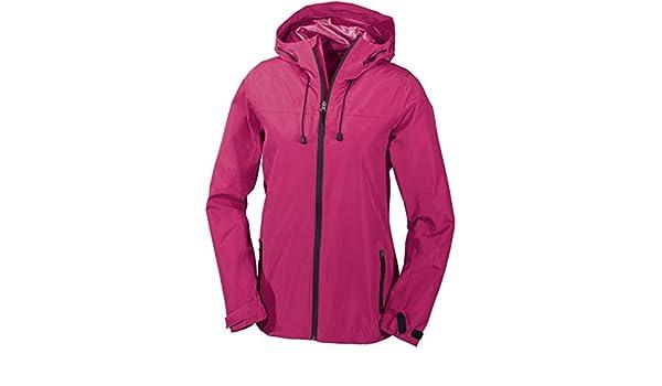 Crivit de senderismo para mujer de la chaqueta, resistente al agua, sin forro, todo el año, mujer, color rosa - rosa, tamaño 40 [DE 38]: Amazon.es: Deportes ...