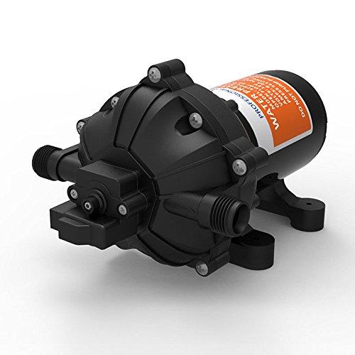 12V Diaphragm Water Pressure Pump Self Priming 18.9 L/min 5.0 GPM 60 PSI for Caravan/RV/Boat/Marine