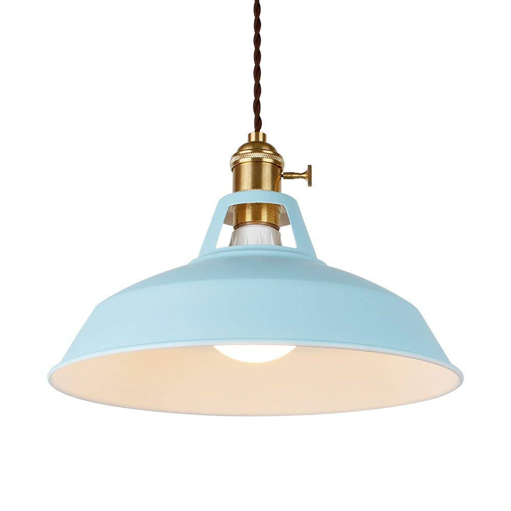 Ascelina industrial pendant light pendant lamp modern pendant light edison pendant light iron pendant light blue pendant light fixture pendant