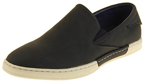 Synthetic Slip Pumps On Shoes Shoreside Navy Leather Mens Blue 5q61xxwtg