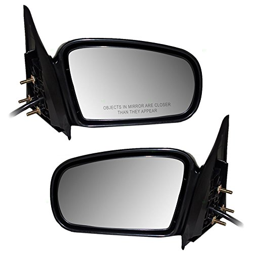 Driver and Passenger Power Side View Mirrors Replacement for Chevrolet Oldsmobile 22683153 22683152 AutoAndArt ()