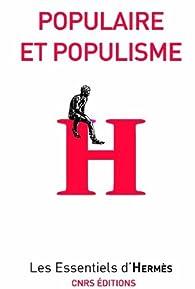 Populaire et populisme par Marc Lits