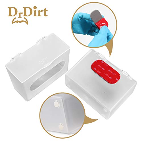 Dr.Dirt Bamboo Facial Tissue Bulk 27 Pack Eco Dispenser Wall Mounted 3 Ply 110 Count Individual Travel Packs Bulk with 3 Box Cover Holder by Dr. Dirt (Image #6)