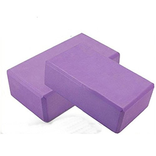 Sport Force 100119 Yoga Blocks, Purple, 9''X6''X3'' by Sport Force