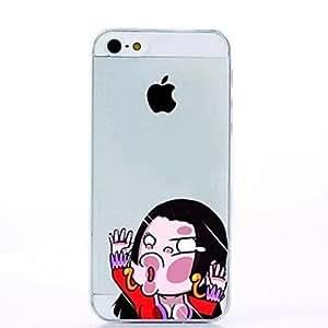 Otros - Dibujos Animados/Diseño Especial/Innovador/Manga - para iPhone 6 Plus ( Multicolor , TPU )