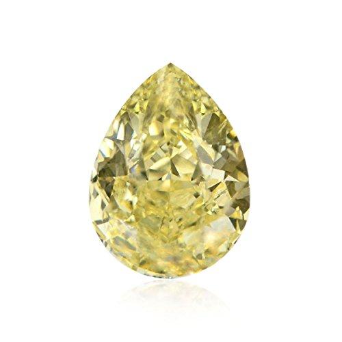 0.76 Ct Pear Diamond - 9