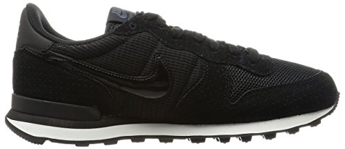 Wmns Black Internationalist Scarpe Grey White da Dark Summit Nero Donna Black Ginnastica Nike 6d0qx6