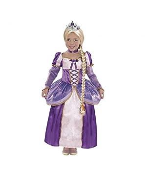 Disfraz Princesa Rapunzel Trenza niña infantil para Carnaval (4-6)