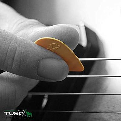 6 pcs Grey 0.88 mm TUSQ Tear Drop Picks