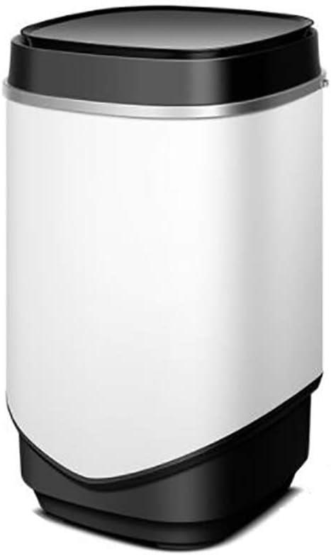 lqgpsx Lavadora semiautomática portátil, compacta Mini Lavadora monocilíndrica Lavadora de Barril Simple Lavadora eléctrica 4 kg / 8.8 Libras Capacidad de Lavado de Poco Ruido