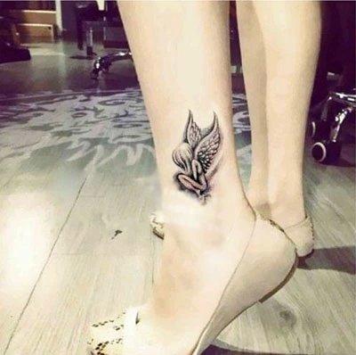 Yangll Marca De Moda Impermeable Etiqueta Engomada del Tatuaje ...