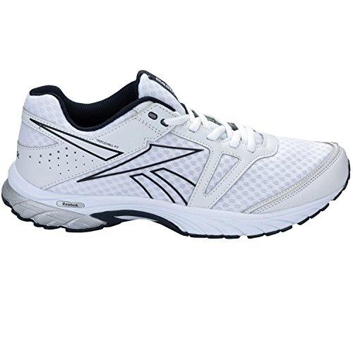 Reebok - Reebok Triplehall 4.0 Zapatos Running Hombre Blanco Cuero Tejido V67661 Blanco