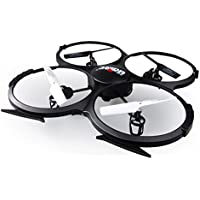 RC Drones with Camera Live Video Fly Toys Quadcopter, Dayan Anser Udi U818A Racing Drone for Kids 2.4GHz 4CH 6 Axis GyroLow Voltage Alarm Gravity Induction