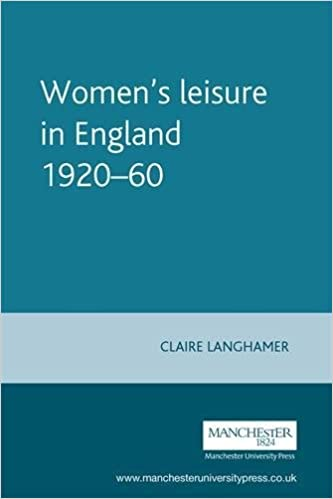 Women's Leisure in England, 1920-1960 (Studies in Popular Culture)