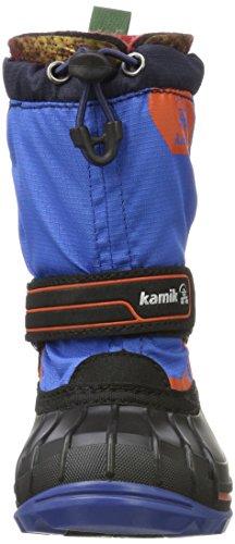 Kamik Unisex-Kinder Snowcoast4 Schneestiefel Blau (Blue BLU )