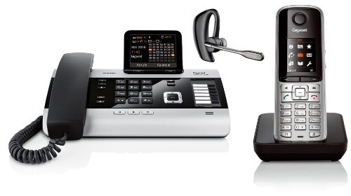 Con Siemens Gigaset DX600A SET S79H teléfono Plantronics Voyager Pro + Auricular Bluetooth