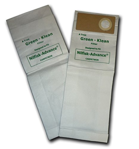 Green Klean GK-CarpTwn Kent Duravac 152 Replacement Vacuum Bags (Pack of 100)