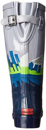 Chooka Womens Tall Rain Boots Skyline
