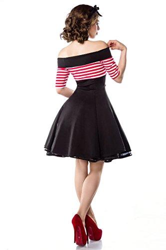 schwarz Belsira im Vintage Petticoat Kleid Farben 2 Größe Marine in 46;Farbe Look A50001 wwrx6q