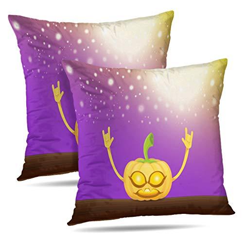 Soopat Decorative Throw Pillow Cover Square Cushion 18
